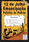 Festa de Emancipação-Cartaz