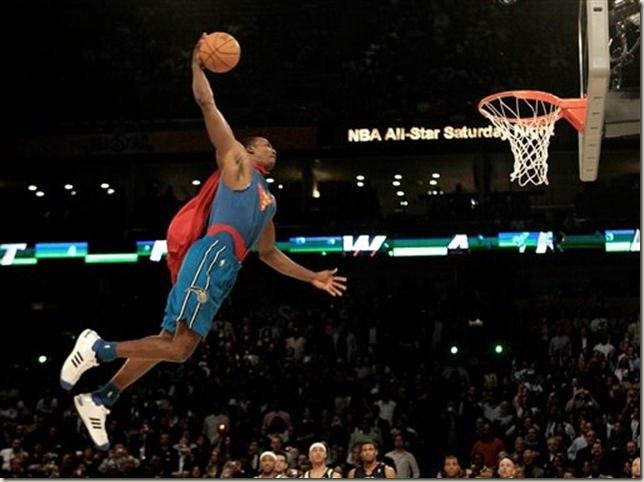 dwight howard dunking wallpaper. dwight howard superman cartoon