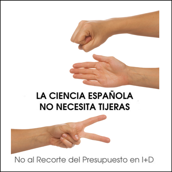 No al recorte del presupuesto en I+D
