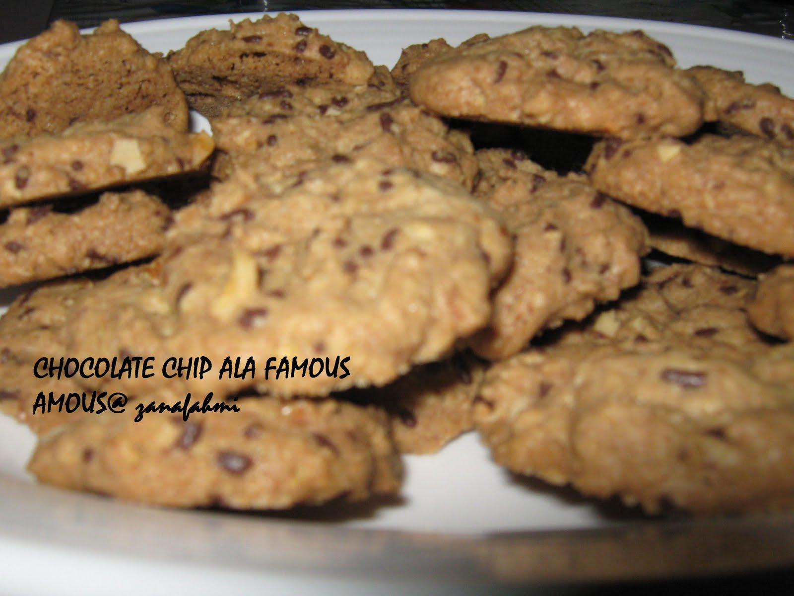 Resepi Biskut Coklat Chip