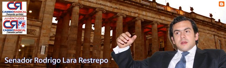 Senador Rodrigo Lara Restrepo
