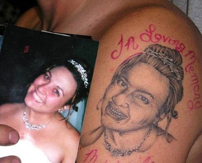 The most common in loving memory tattoo designs are the religious images