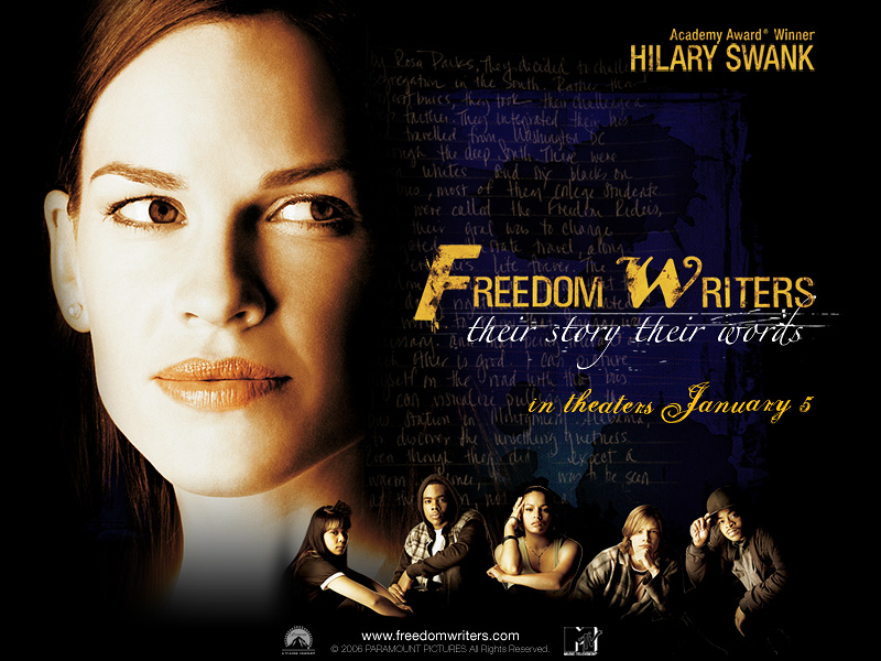 tolerance in the freedom writers movie Watch freedom writers (2007) online movie free watch movies online a young teacher inspires her class of at-risk students to learn tolerance.