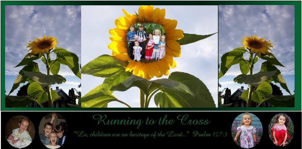 Running to the Cross