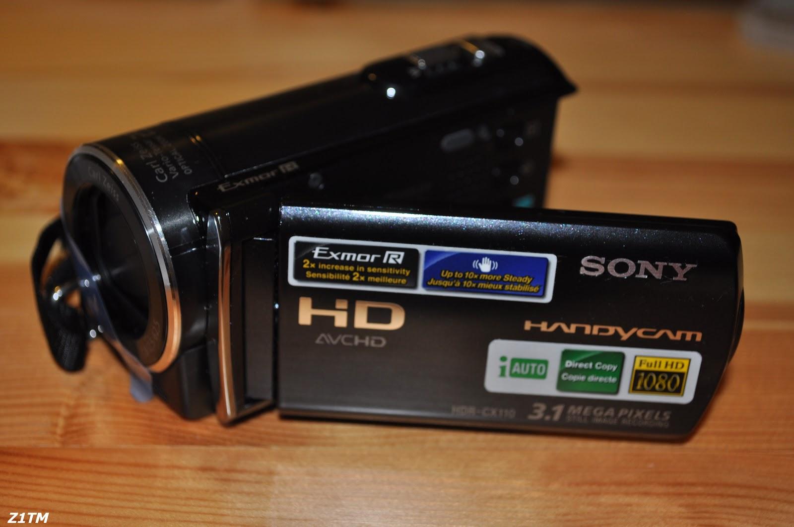 z1tm sony handycam hdr cx110 unboxing rh z1tm blogspot com
