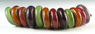 Autumn Disk Beads