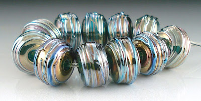 Rainbow Metallic Beads