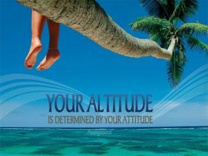 Atttitude Help you a Lot
