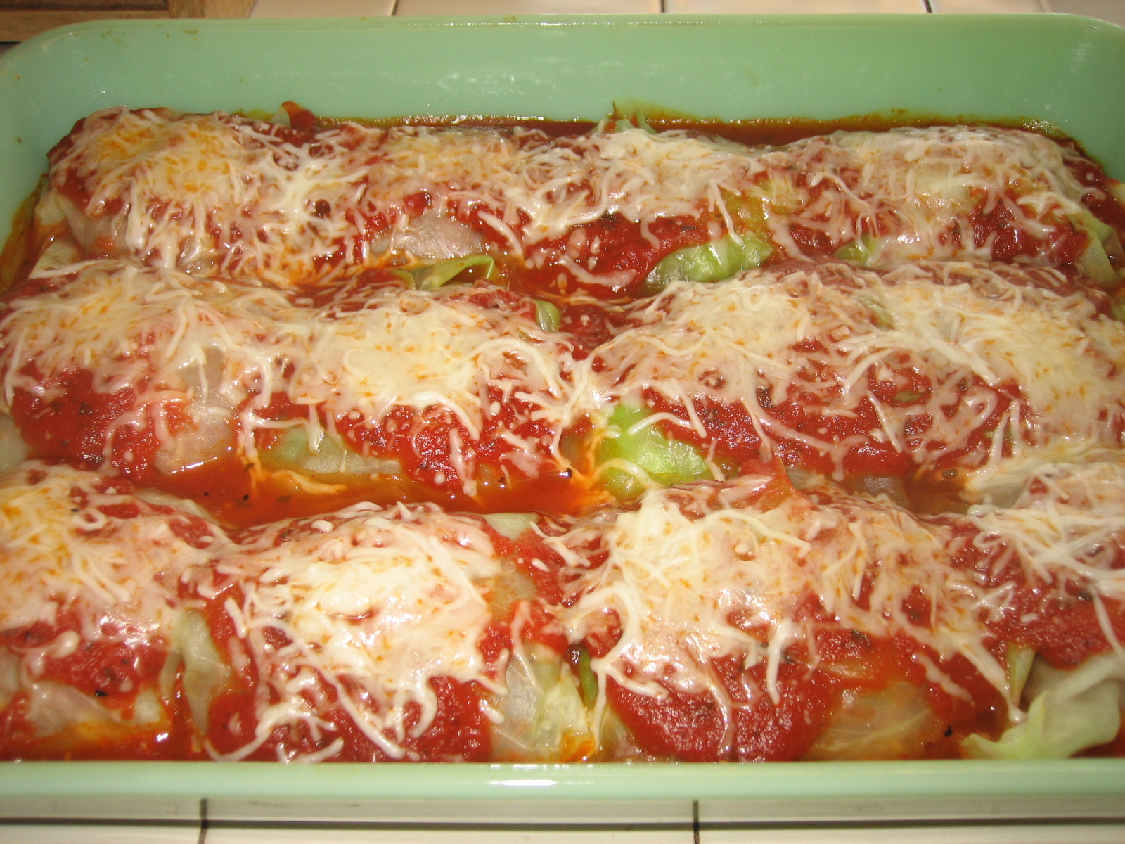 Tracy Cooks It Right: Italian Stuffed Cabbage