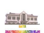 Kantor Dinas Pendidikan Kabupaten Melawi