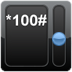 Konto *100# android widget