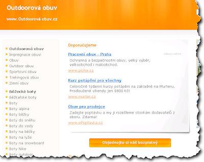 Doména Outdoorovaobuv.cz