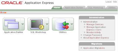 Oracle APEX - Example Application