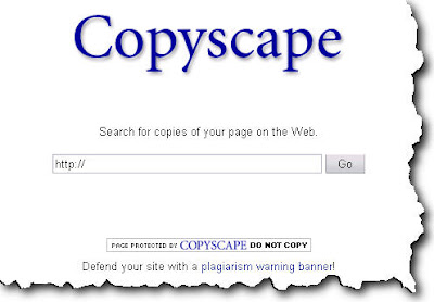 Copyscape - Website Plagiarism Search, Web Site Content Copyright Protection