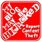 It is mine stop content theft - Stop Content Theft Buttons and Badges