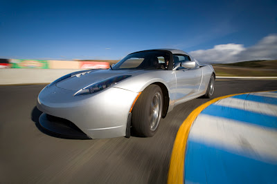 Tesla Motors - Tesla Roadster Car