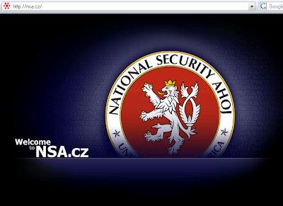 NSA.cz v roce 2009 - pokus o opravu ukradeného Web designu