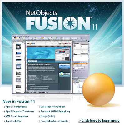 NetObjects Fusion - Go from concept to live site quickly and easily and with NO html coding