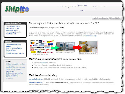 Nákup v USA, dovoz z USA - Shipito.cz