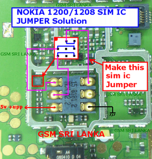 yasir mobile computer repairing center: NOKIA 1661 RINGER IC JUMPER