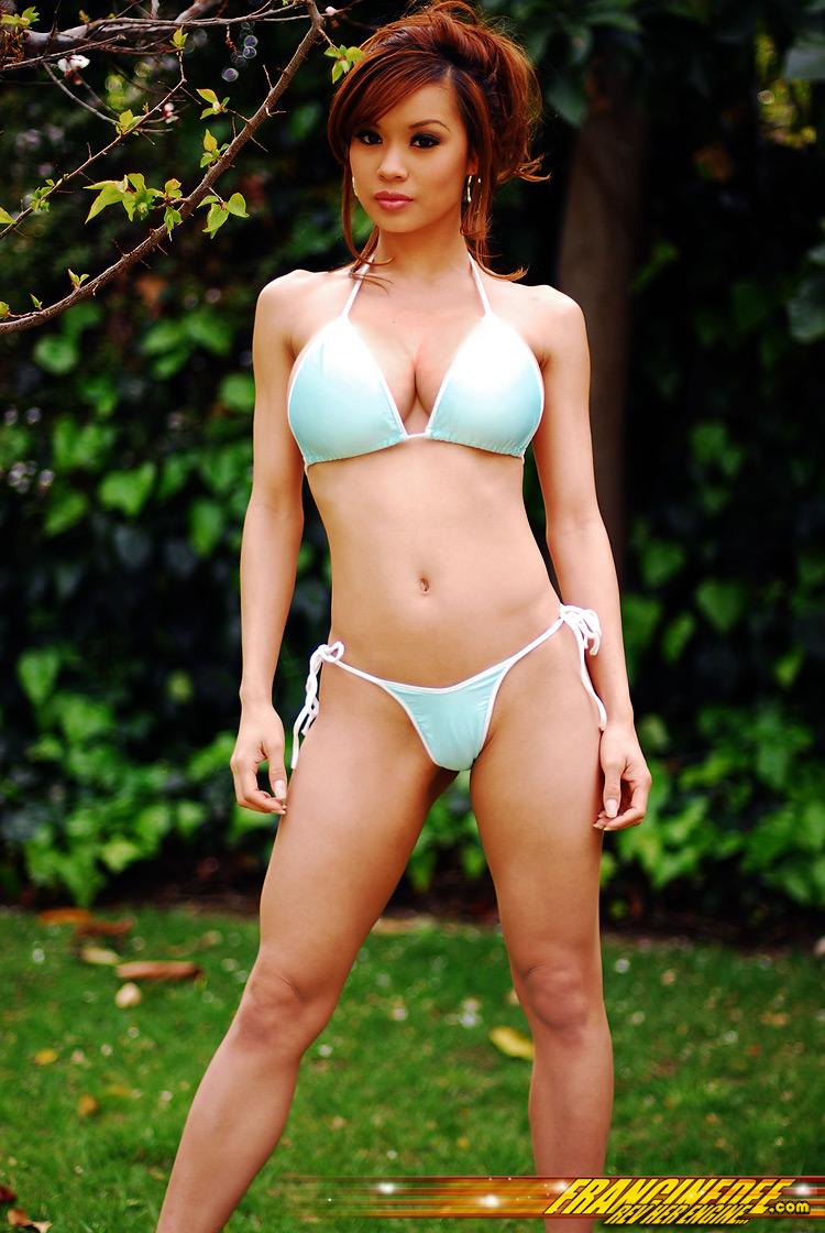 francine dee nude on beach