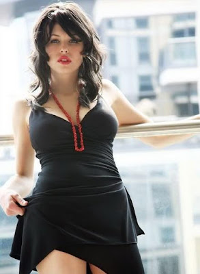 Pretty Sexy Black Sleeveless Party Dress Fashion,Iga Wyrwal