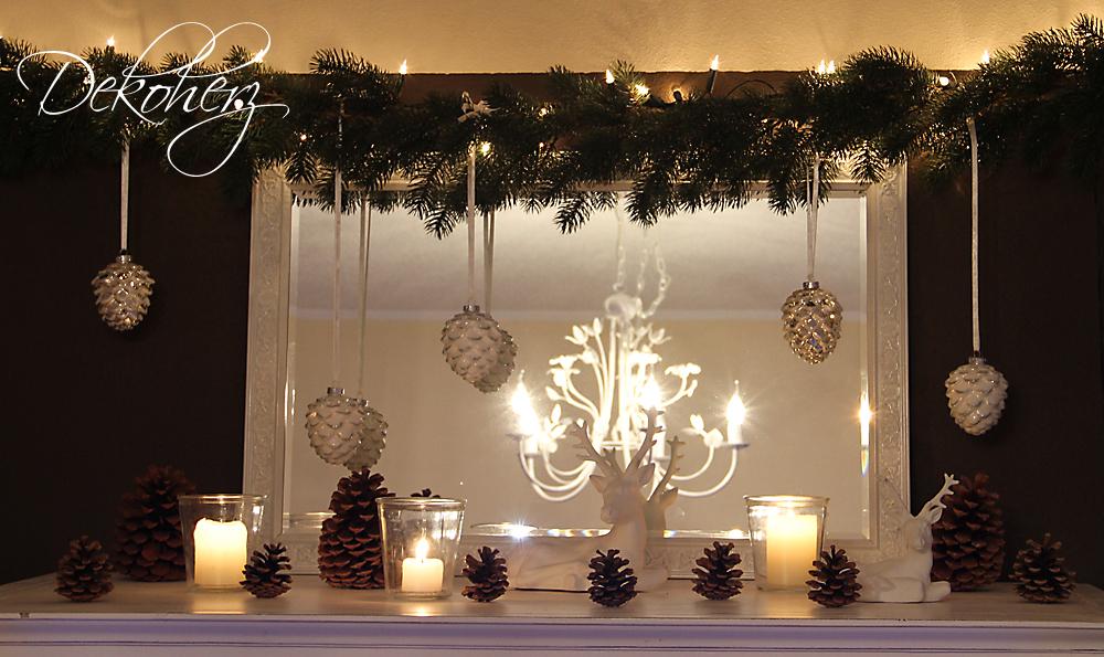 dekoherz: die erste weihnachtliche ecke im wohnzimmer, Wohnzimmer