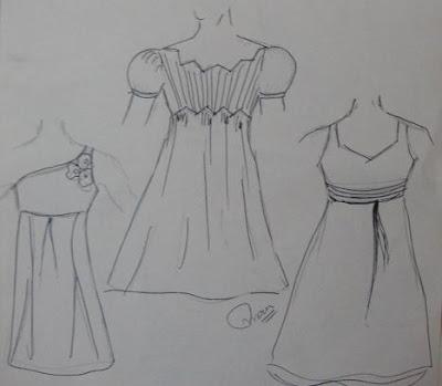 Designer Mona's Blog: Casual Dress Sketches