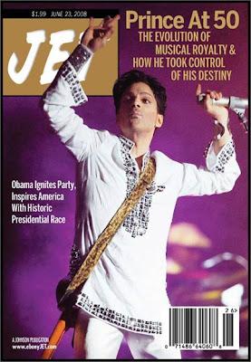 Prince on Jet Magazine