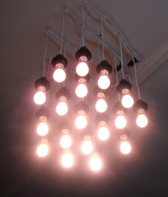 homemade environmentally light fixture