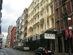 SOHO Cast Iron Historic District
