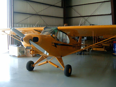 sexy airplane piper cub