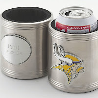 Personalized NFL Team Logo Beer Koozie