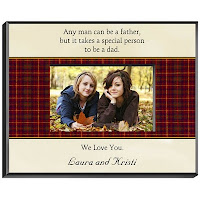  Personalized Picture Frames in Assorted Father Poems