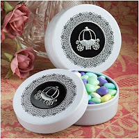 Royal Coach Design Mint Tin Favors