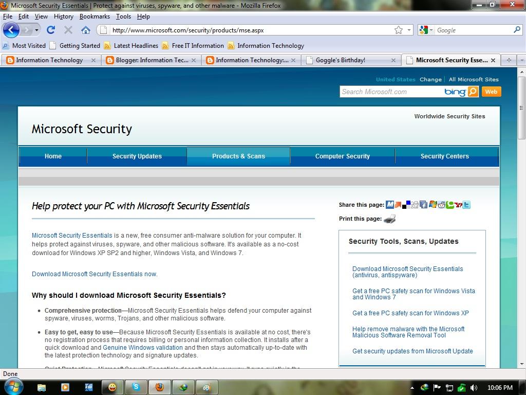 Microsoft threw its hat in the anti