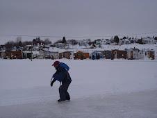 Roberval, sur le lac saint jean