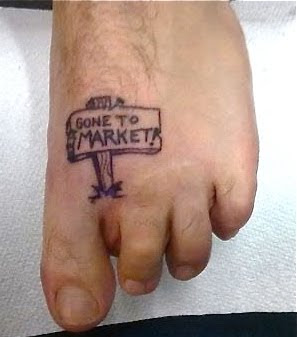 bambina mia tattoo of the week ode to the toe