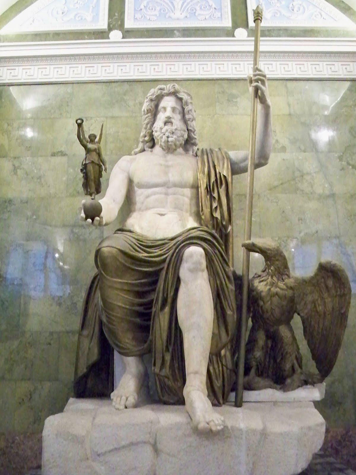 Roman Gods Statues
