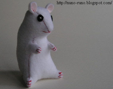 Hamster stuffed