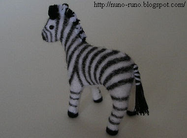 Zebra back