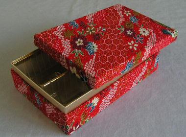 Chirimen box