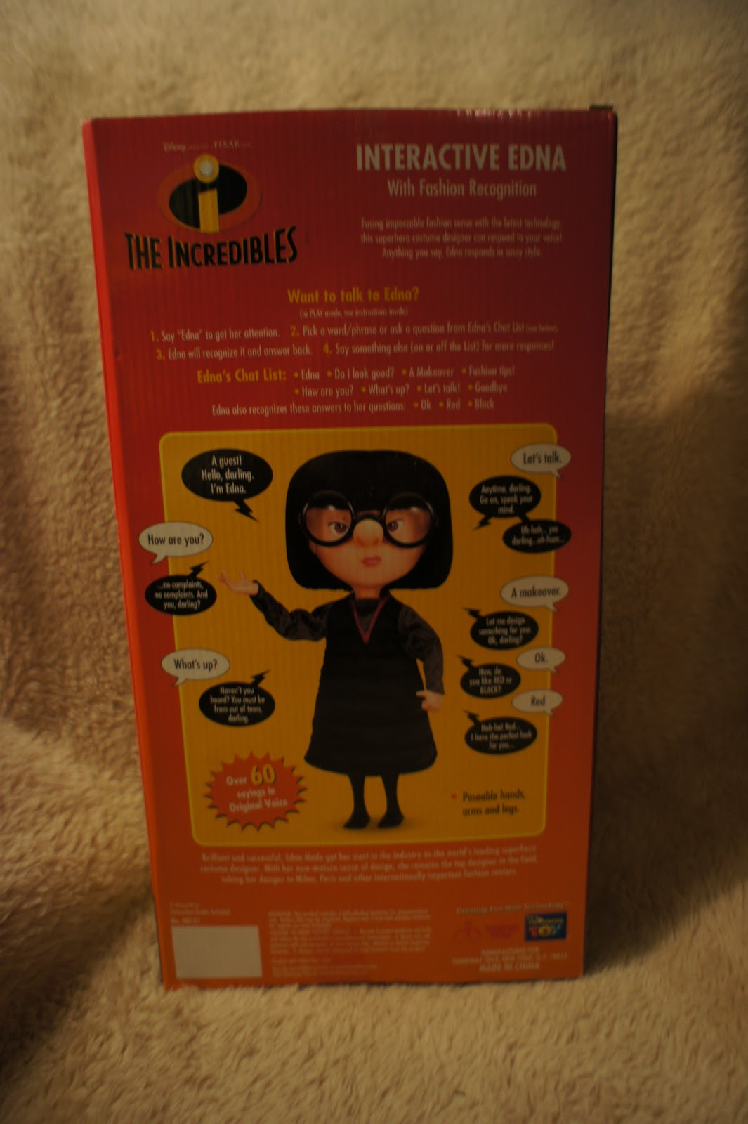 Super Snips The Incredibles Interactive Edna 00526