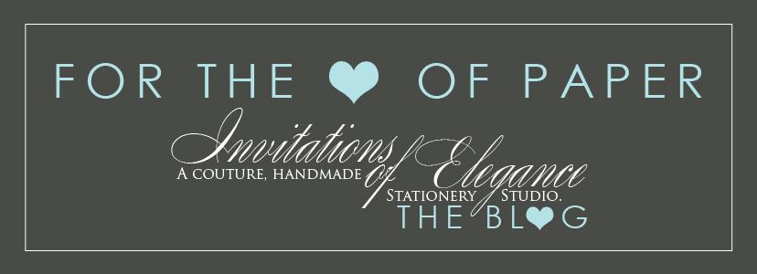 Invitations of Elegance, THE BLOG