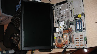 Lenovo Thinkpad T400 hardware inside