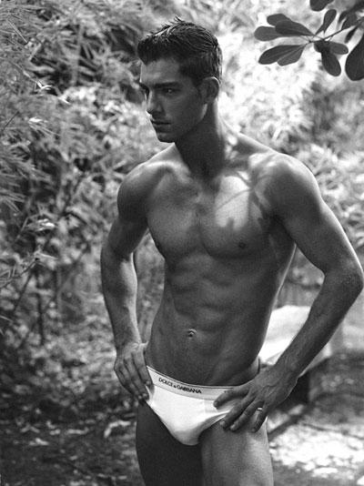 Dolce and Gabbana Male Underwear Models