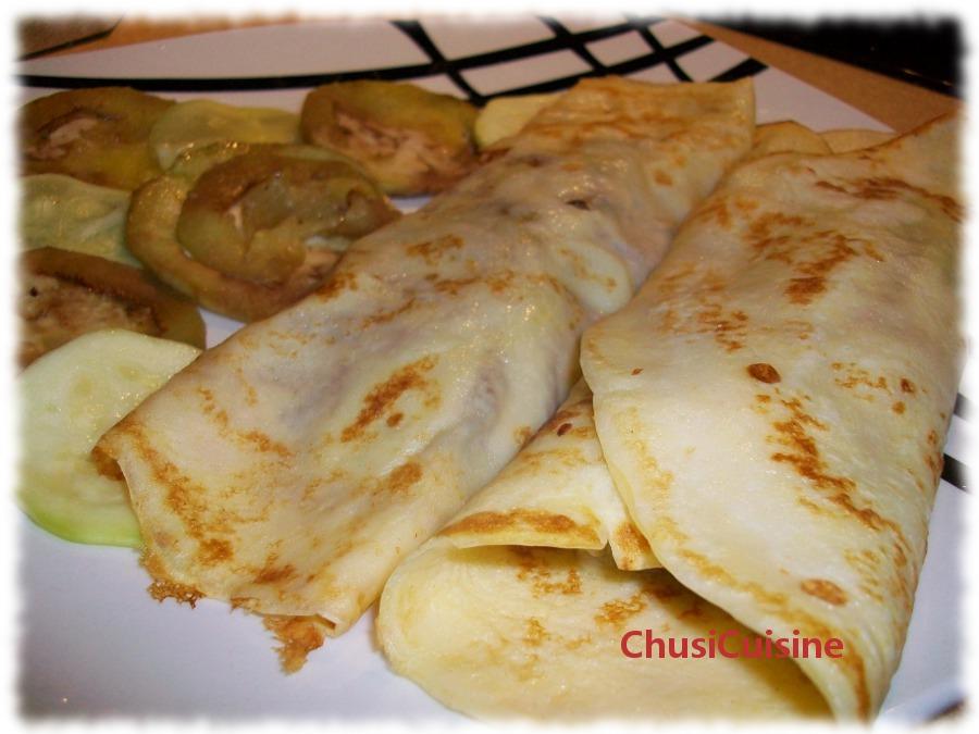 Chusicuisine crepes de verduras - Ingredientes para crepes ...