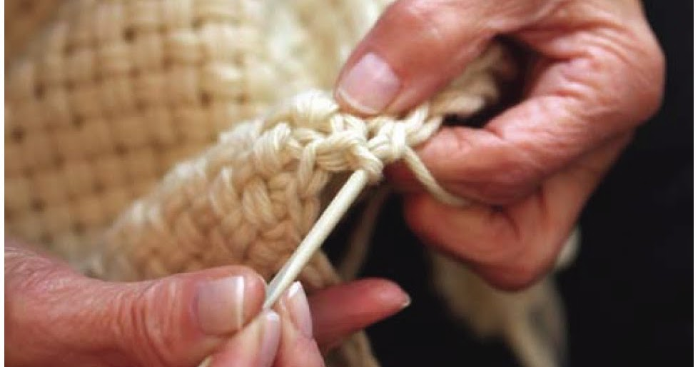 Weaving Stitches In Knitting : FINGERS FANCY - a craft blog: Crochet Weave?