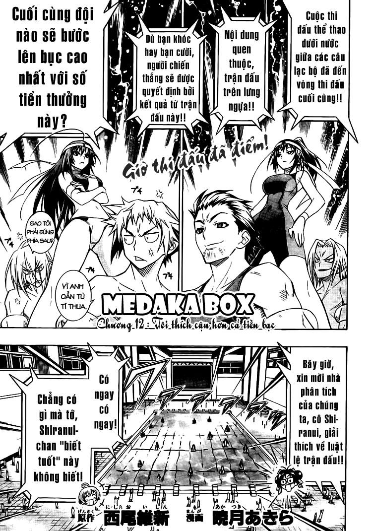 Medaka Box chap 12 - Trang 1