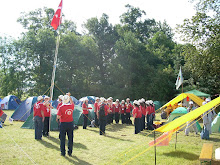 Turkish flag ceremony before meal